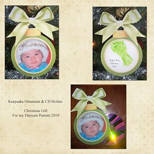 Keepsake Ornament & CD Holder