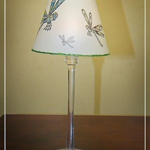Wineglass lampshade
