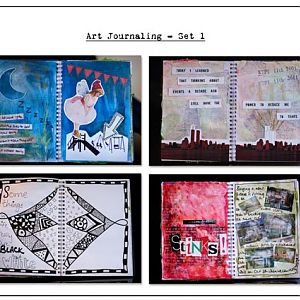 Art Journaling - Set 1
