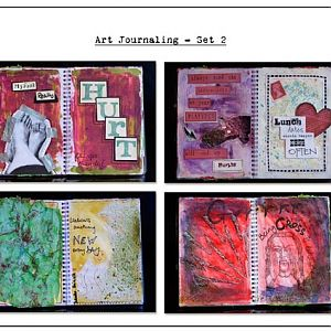 Art Journaling - Set 2