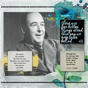 Day 2 -Who I'd like to spend my birthday with-CS Lewis