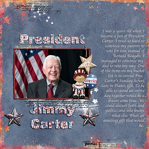 Birthday with Jimmy Carter