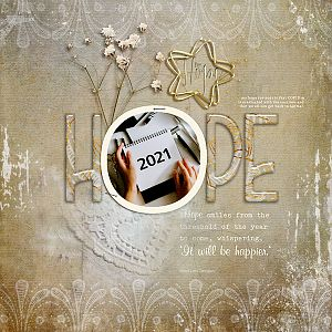 Hope for 2021  - Day 12 Challenge