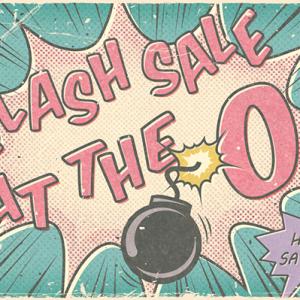 Flash Sale @ Oscraps