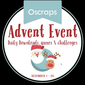 Oscraps Advent Event