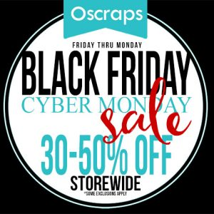 Oscraps digital scrapbooking Black Friday Sale