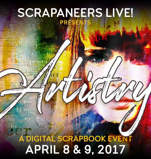 Scrapaneers LIVE! Artistry