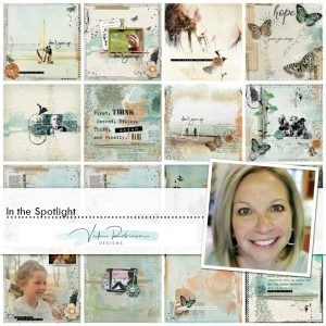 Vicki Robinson Spotlight layouts
