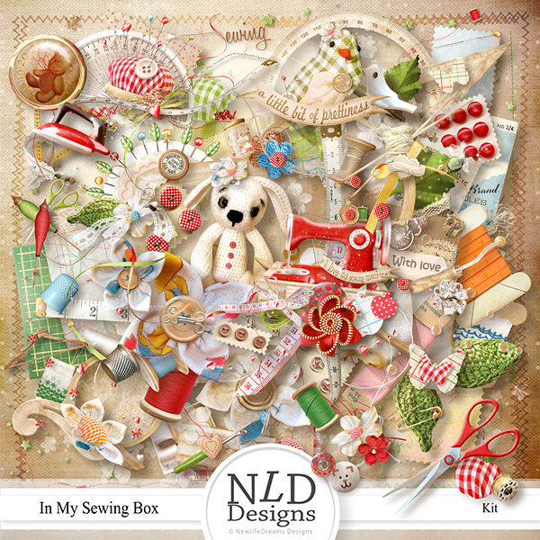 In My Sewing Box by NLD Designs
